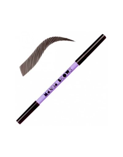 Matita Manga Brows Deep Ebony Pure Black Neve Cosmetics