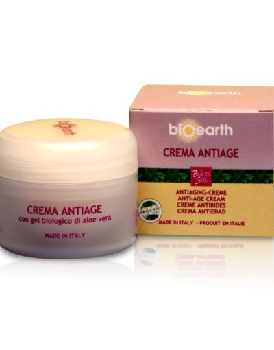 Crema antiage aloe Bioearth