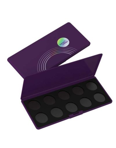 Palette personalizzabile da 10 Dark Purple Neve Cosmetics